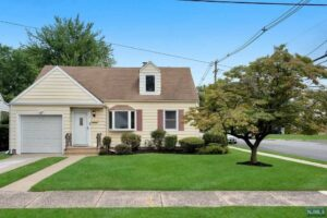 New Listing – 1 Parkway Ave Clifton, NJ 07011 – MLS #20037306 $449,000